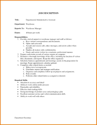 Warehouse Worker Job Description Resume by Warehouse Job Duties For Resume Free Resume Example And Writing