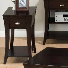 Espresso Accent Table Side Table Living Room Side Tables Riverside Cape May Seaspray