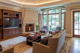 Living Rooms With Corner Fireplaces | 20 appealing corner fireplace in the living room home design lover