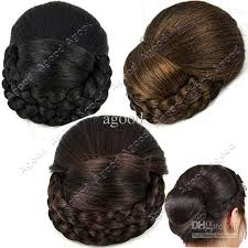 bun clip 2018 new fashion women girl clip in hairpiece clip in hair bun