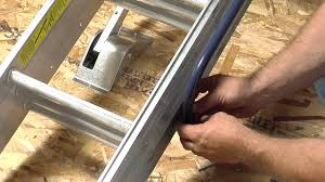 werner compact attic ladder long installation video youtube