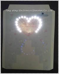 fiber optic sound modules for greeting cards music birthday card