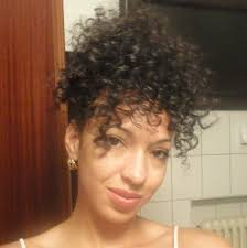 haircuts and styles for curly hair quick curly hair styles curly mohawk updo and bun youtube