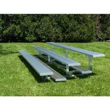 Aluminum Park Benches Bleachers Aluminum Bleachers The Park Catalog