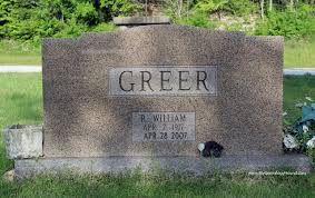 grave tombstone robert william dabbs greer grave and tombstone peace valley