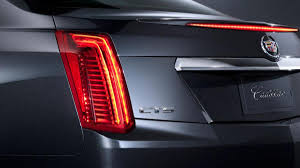 cadillac cts lights 2014 cadillac cts revealed for york auto autoweek
