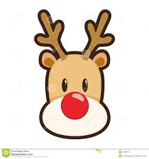 head clipart rudolf pencil and in color head clipart rudolf