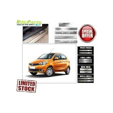 nissan micra vs tata tiago door stainless steel sill plate for tata tiago