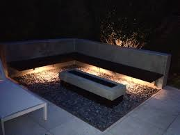 unique outdoor lighting design for a unique outdoor living space
