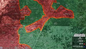 Syria War Map by Qasion News Agency Qasioun Map Syrian Opposition Seize