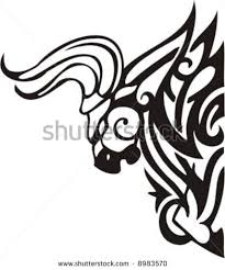 tattoo design of tribal taurus bull in 2017 real photo pictures