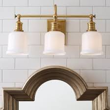 Craftsman Bathroom Lighting Retro Bath Lighting Schoolhouse Restoration Craftsman