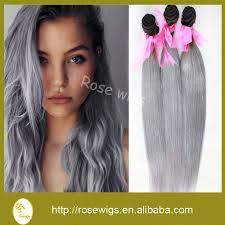 silver hair extensions 100 hair two tone color silver hair extension