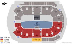 Ticketmaster Floor Plan Tickets Old Dominion Happy Endings World Tour Abbotsford Bc At