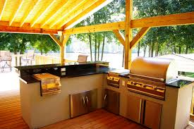 back yard kitchen ideas triyae com u003d simple backyard kitchen ideas various design