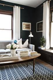 Dark Blue Living Room by Getting Bluer Getting Darker