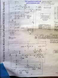 frigidaire stack washer dryer model fex831cs0 schematic fixitnow