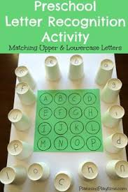 easy letter recognition activity pool noodle alphabet tower fun