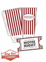move night free printables popcorn candy drink u0026 treat