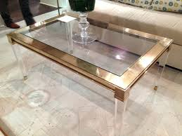 coffee tables dazzling enchanting clear square minimalist glass