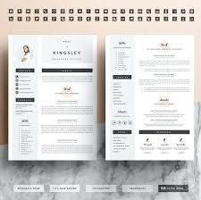 resume front and back