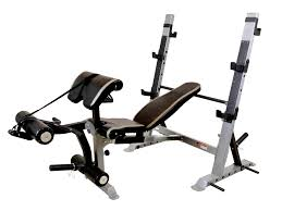 force usa adjustable olympic bench system combo fitness equipment