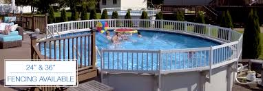 above ground pool decks the great escape