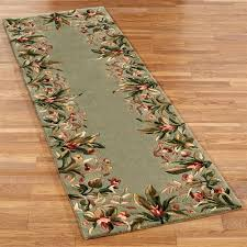 Round Tropical Area Rugs Island Flora Round Rugs Round Area Rugs Round Kitchen Rugs And