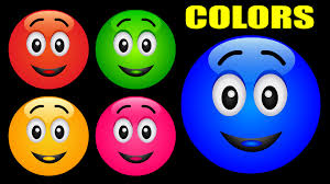 Color For Happy Colors For Children Learn With Color Balls Kids Learning Videos