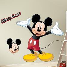mickey mouse minnie mouse wall decal wall sticker wall mickey mouse wall decal by room mates