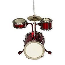 musical instrument ornament 3 drum set