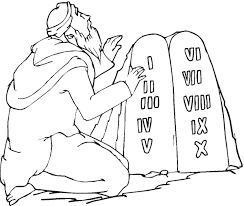 free coloring pages of moses and the rock google search ed moses