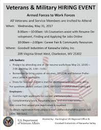 Job Fair Resume by Events2 Goodwill Industries Of Kanawha Valley