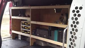 Cargo Van Shelves by Back For More Purchased Another Van Ford Truck Enthusiasts Forums