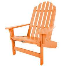 Orange Chair by Shop Durawood Essentials Adirondack Chairs On Sale