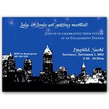 wedding invitations atlanta atlanta skyline invitations paperstyle