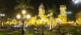 plaza mayor of lima gringo peru