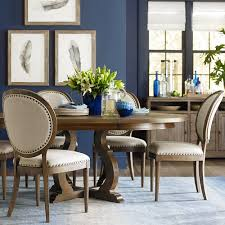artisan round dining table bassett home furnishings
