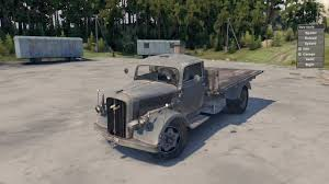 opel truck ww2 spintires