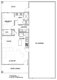 House Plans With Rv Garage by Arizona Rv Home Model 1 Small House Plans Pinterest Rv