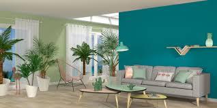 chambre peinte en bleu délicieux nuances de bleu peinture 1 peinture chambre vert canard