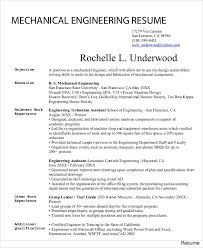 mechanical engineering resume mechanical engineering resumes resume cover letter pdf