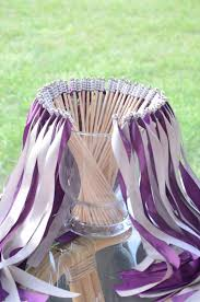 ribbon wands chic wedding ribbon wands send party steamers set of 50
