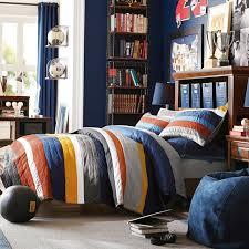 Pottery Barn Teen Stores Mvp Stripe Quilt Sham Pbteen
