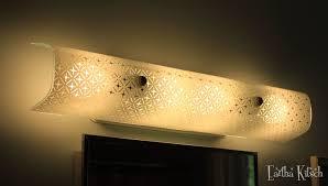 lighting design ideas startling glass retro bathroom lighting
