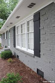 Painting Masonry Exterior - spray painting exterior brick house defendbigbird com