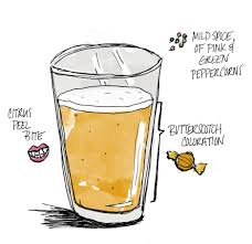 cartoon beer pint imperial ipa