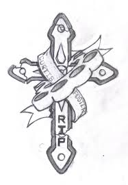 rip crosses designs rip tattoos designs ideas and meaning