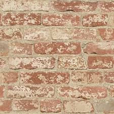 exposed brick wall amazon com