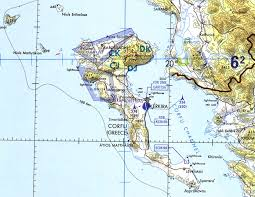 Map Of Albania Corfu Channel Incident 1946 Mining Of Hms Saumarez And Volage